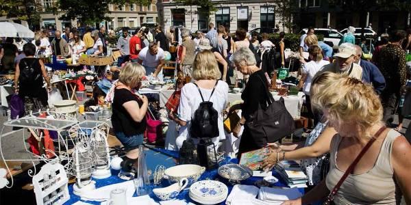 Copenhagen flea market