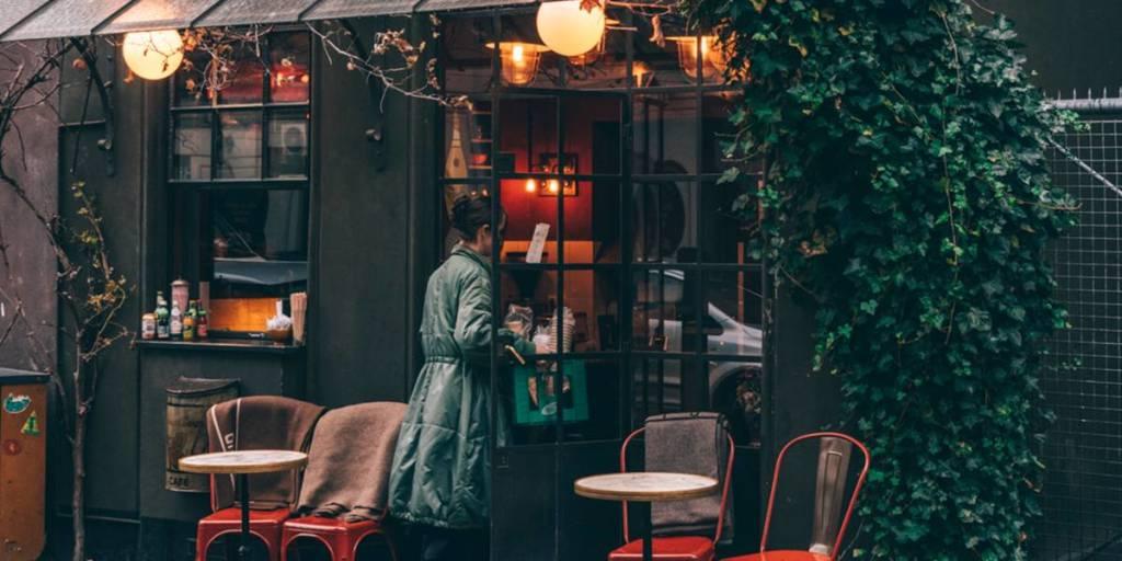Cafe in Copenhagen, Image credit: Martin Heiberg
