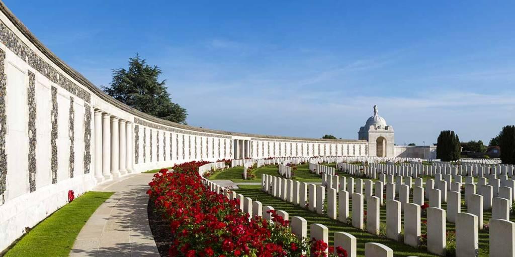 Belgium Tyne Cot graves