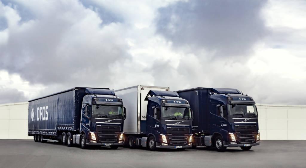 DFDS trucks