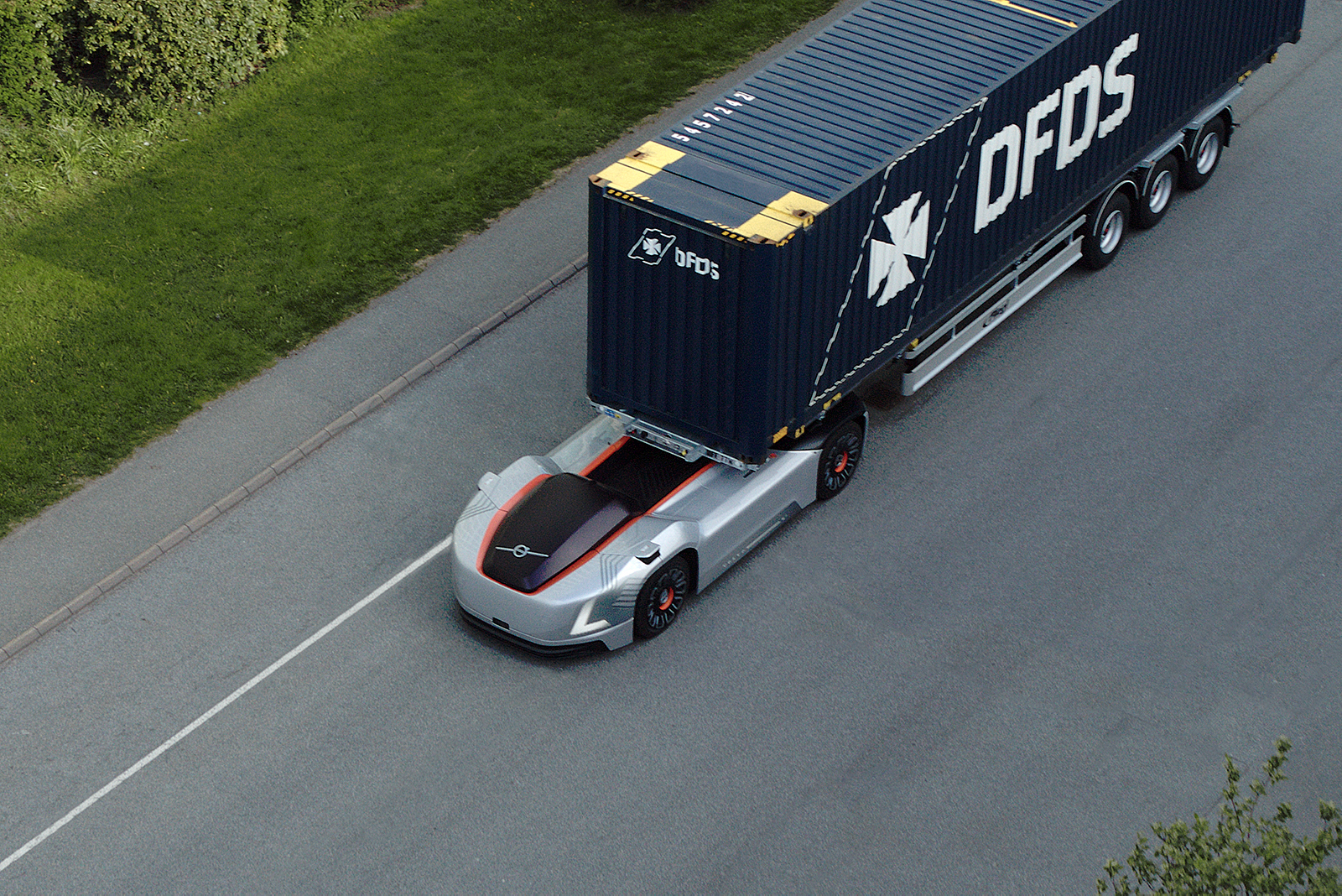 Volvo presents autonomous transport solution