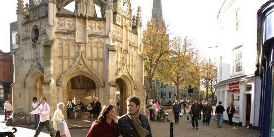 Chichester town centre