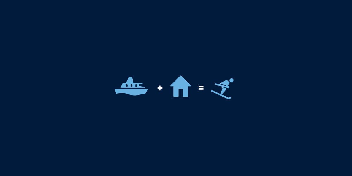 ski icones