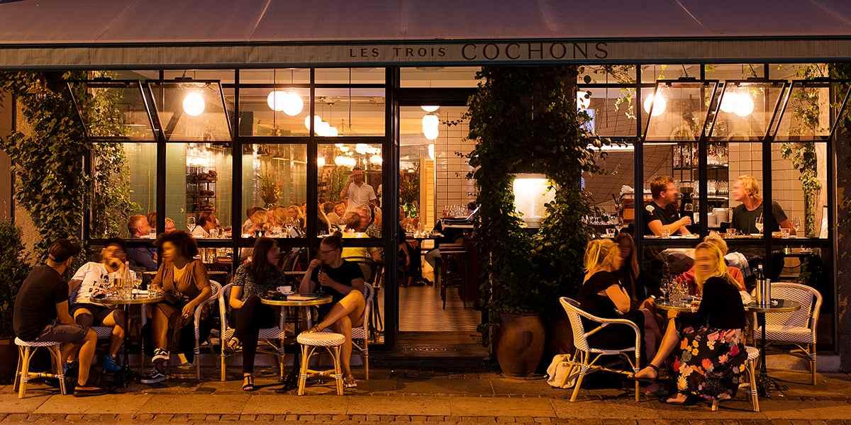 Kafé i København -  visitcopenhagen PhotoCredit Maria Sattrup
