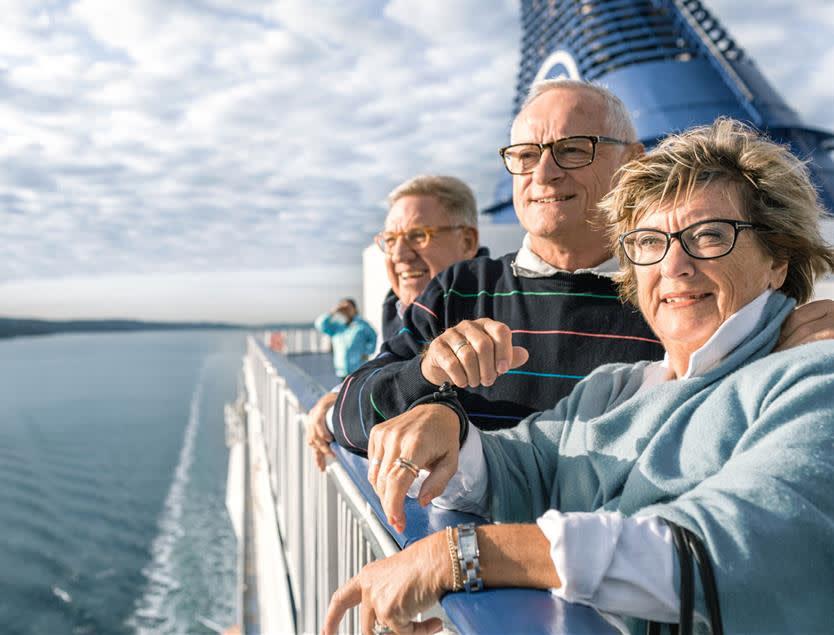 Senior cruise Copenhagen Oslo