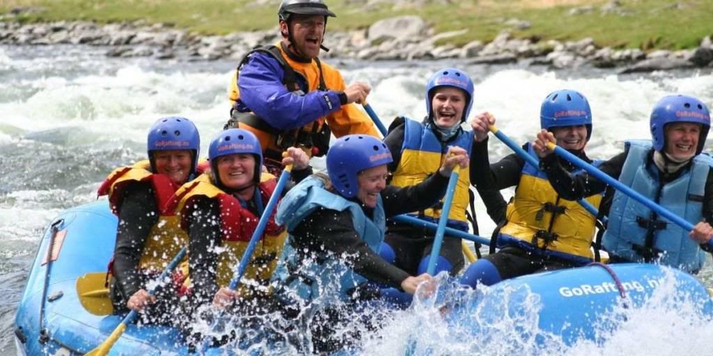 Rafting in Sjoa - Norway -  VisitLillehammer  - Photocredit GoRafting