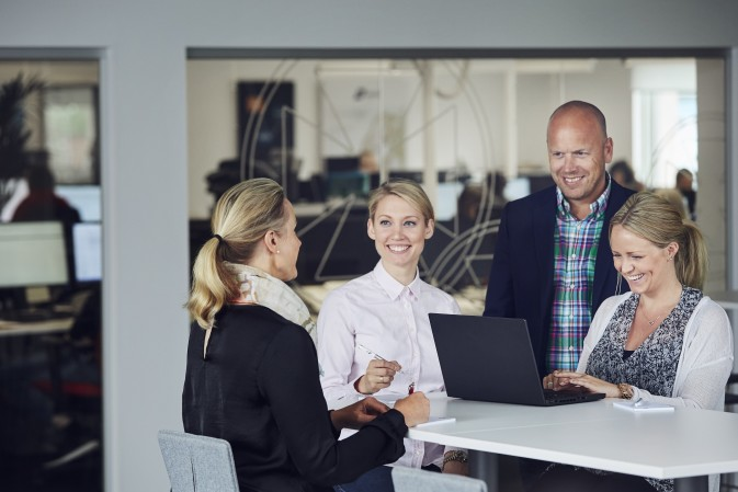 DFDS Gothenburg Office Customer Service helping customers