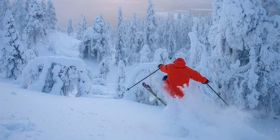 Skiing in Scandinavia