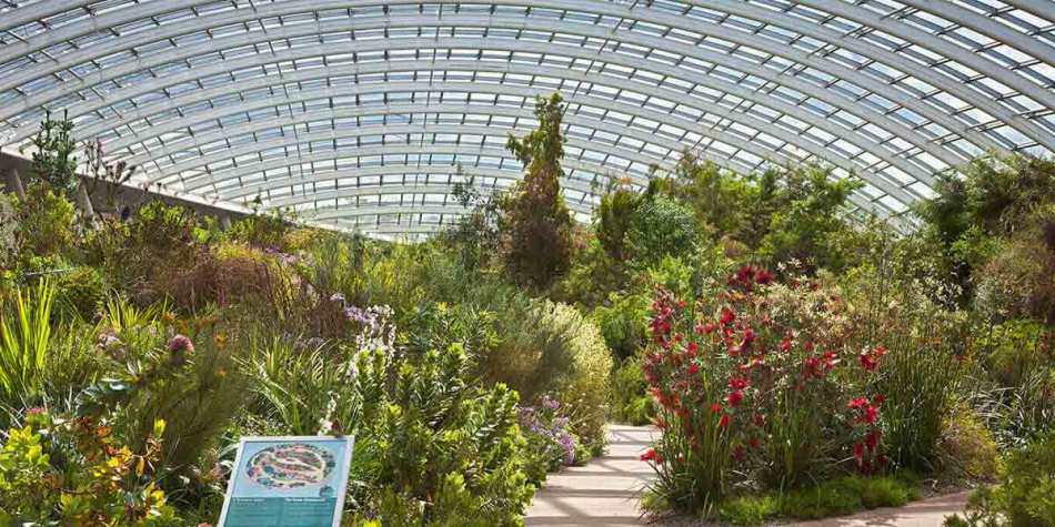 National Botanic Gardens in Wales