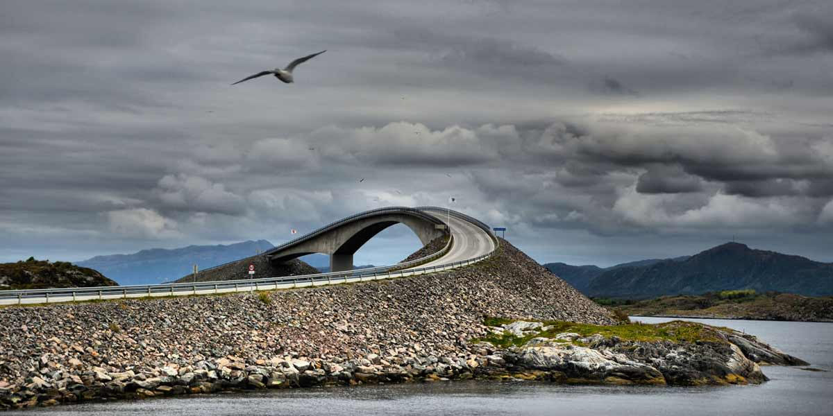 Motorcykelferie i Norge
