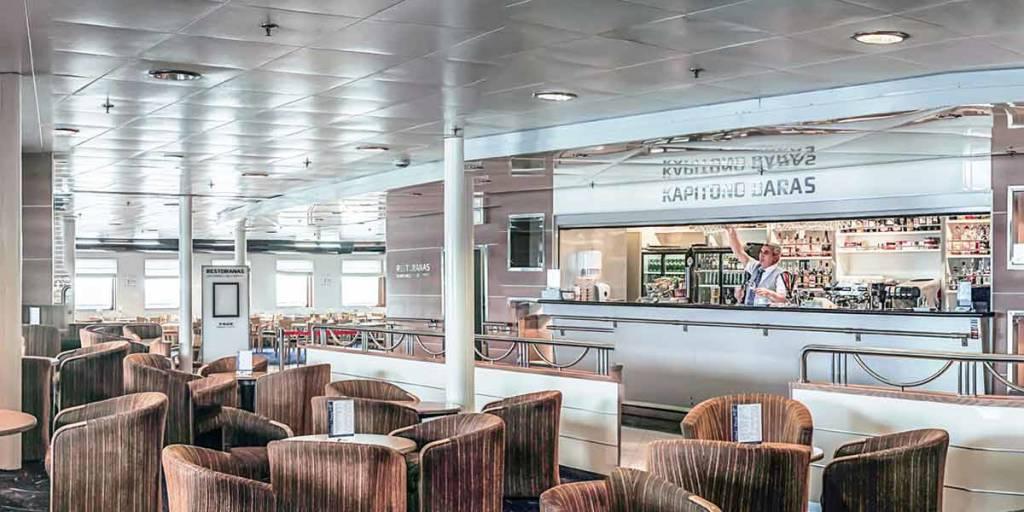 Kapitono Bar ombord DFDS færge