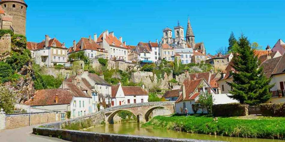 Burgundy, one of our tour routes