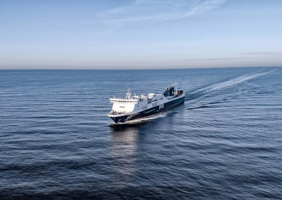 Athena Seaways - Kiel to Klaipeda