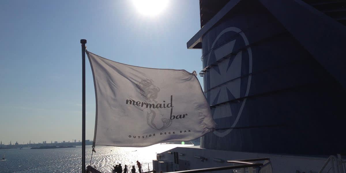 Mermaid bar onboard Oslo-Copenhagen