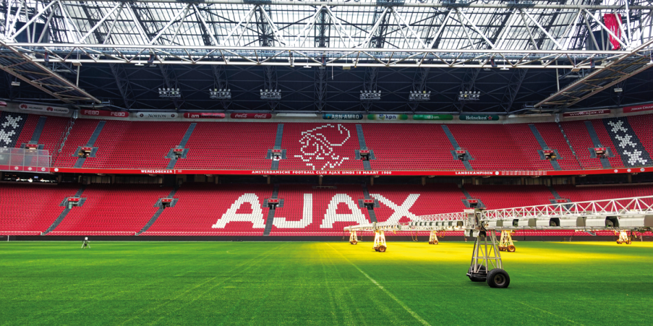 The Johan Cruyff Arena in Amsterdam
