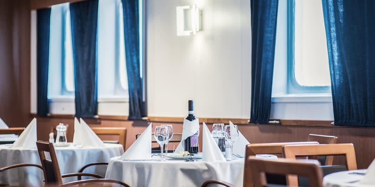 Restaurant Patria Seaways Klaipeda-Karlshamn
