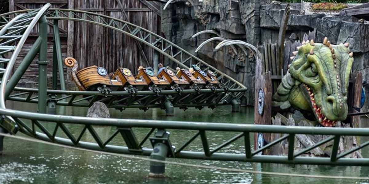Hansa Park - water ride