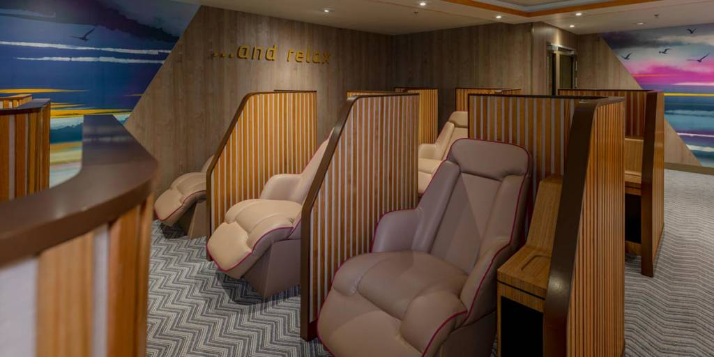 Relax Lounge onboard DFDS ferry