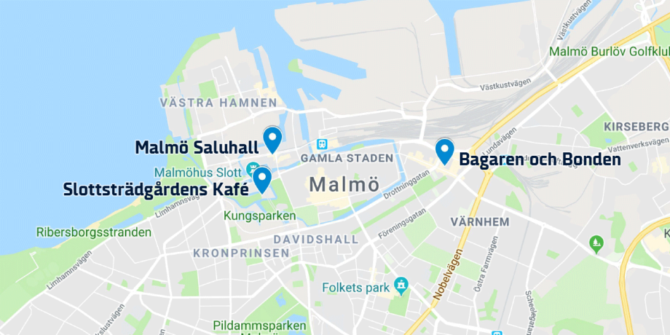Cafes in Malmo