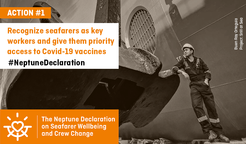 Neptune declaration on Seafarer Wellbeing and Crew change