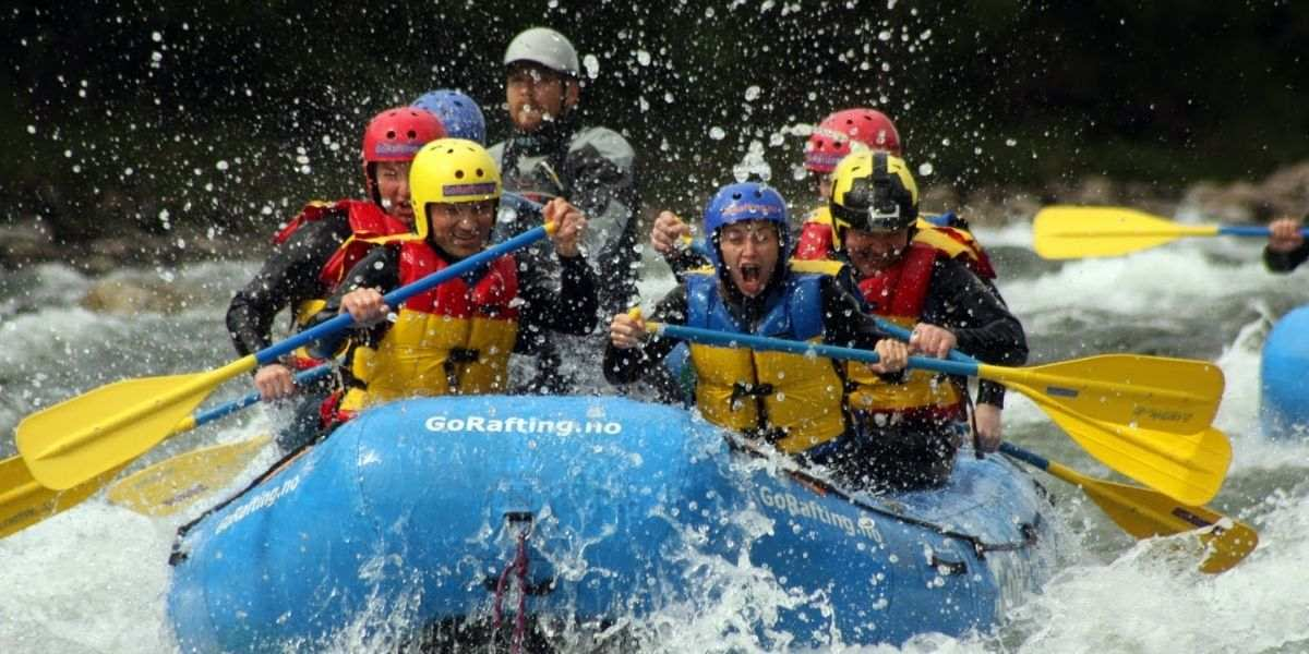 Rafting at Sjoa in Norway -  VisitLillehammer  - Photocredit GoRafting