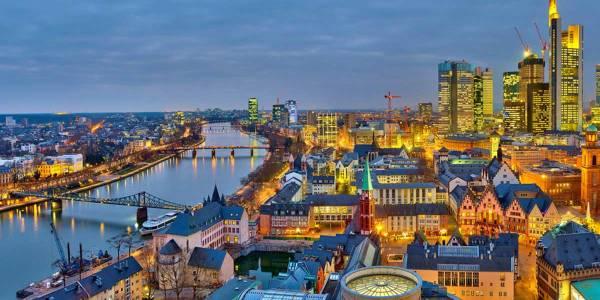 Frankfurt i Tyskland