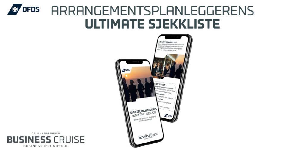Arrangementplanleggerens ultimate sjekkliste