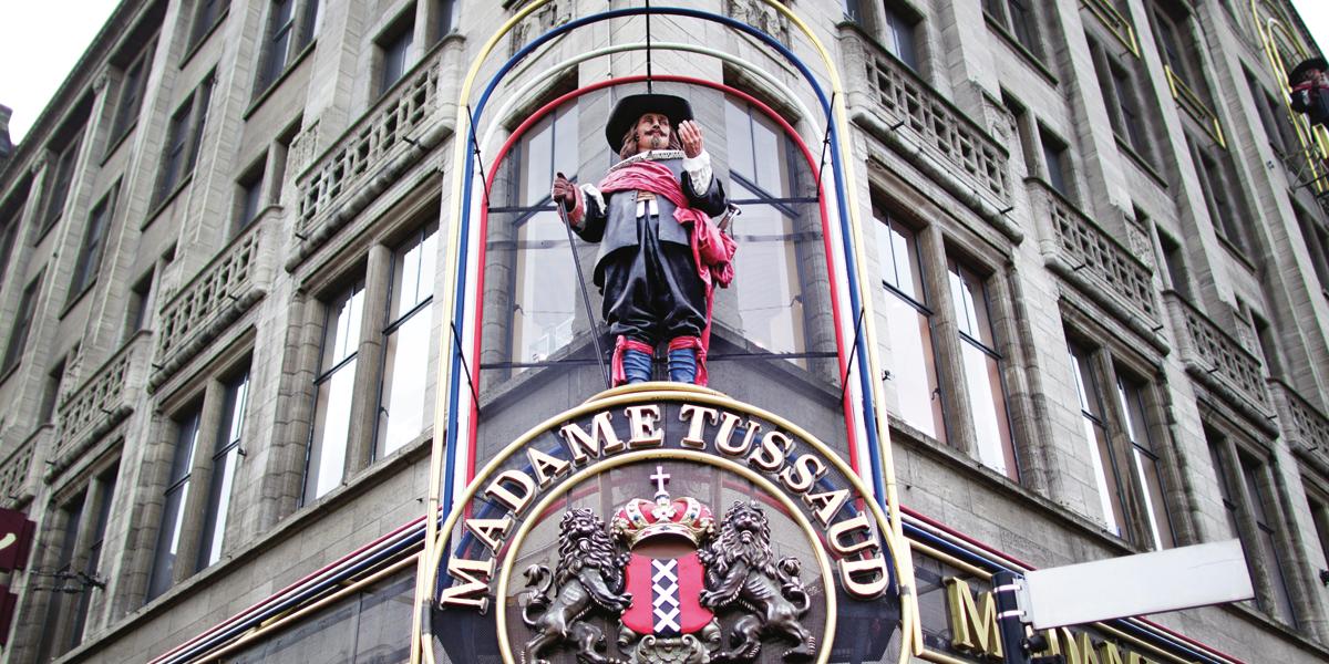 Madame Tussaud, Amsterdam