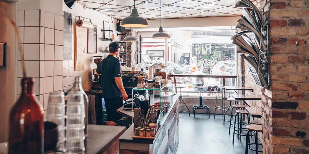 Cafe in Copenhagen, Image credit: Astrid Maria Rasmussen