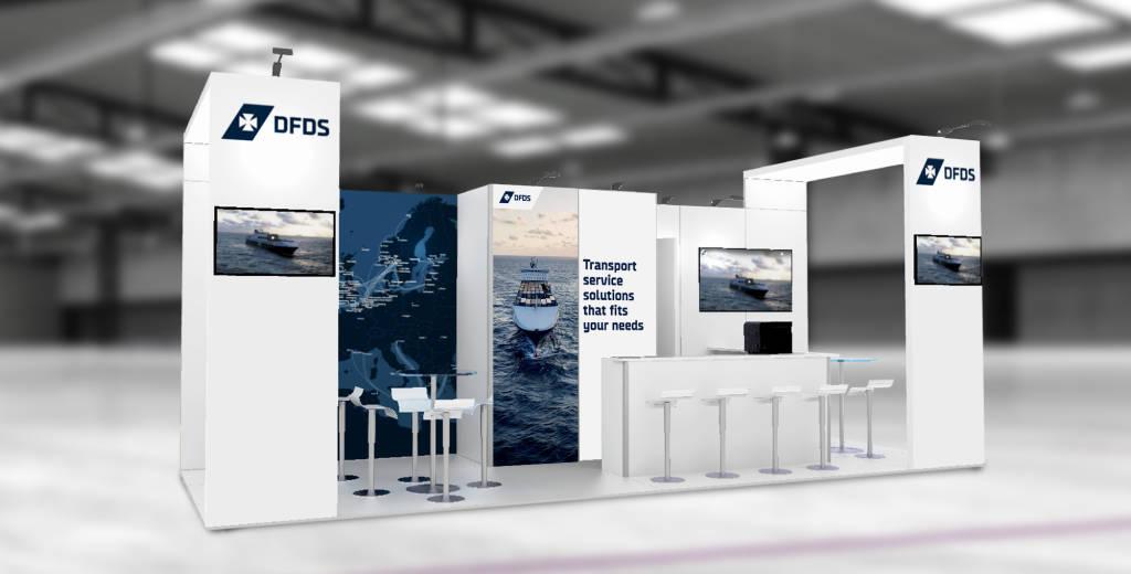 DFDS 2021 RENDER Antwerp fair