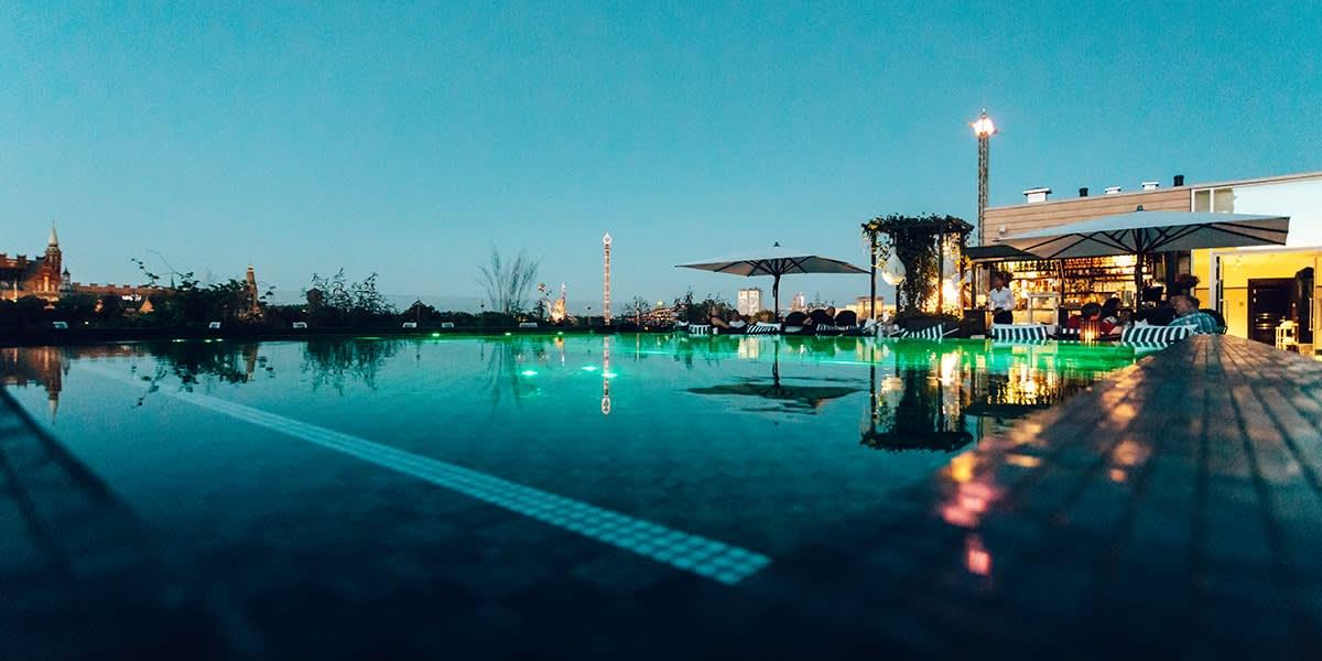 Nimb hotel - rooftop pool
