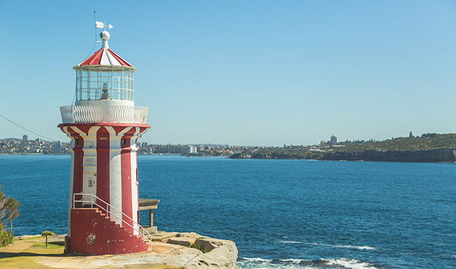Blog - Hornby Lighthouse South Head image credit Hugh O'Brien