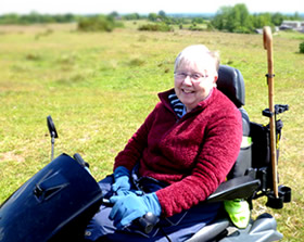 Jill Williamson on her Tramper