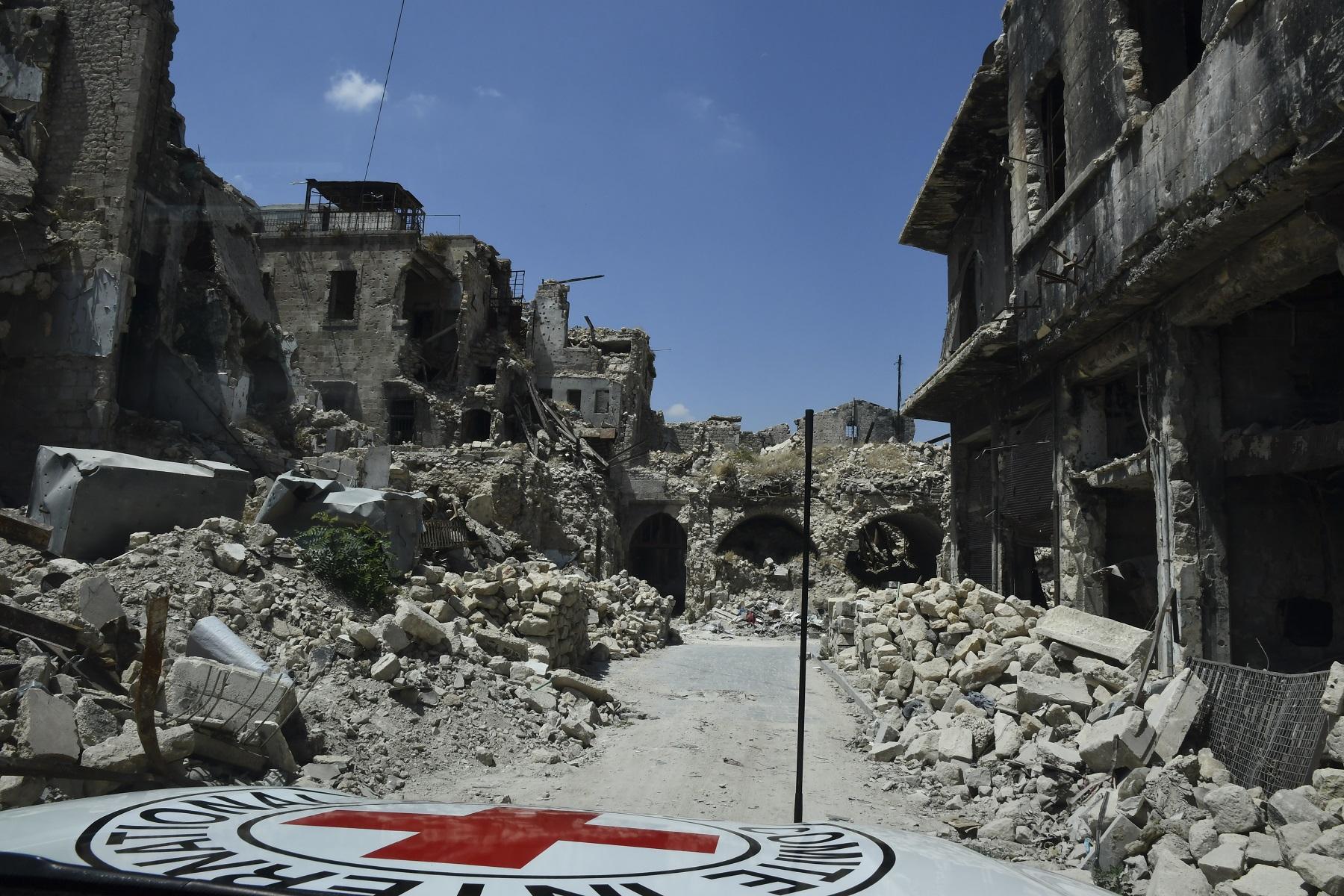Die Altstadt von Aleppo in Syrien. © IKRK, Eva Pilipp