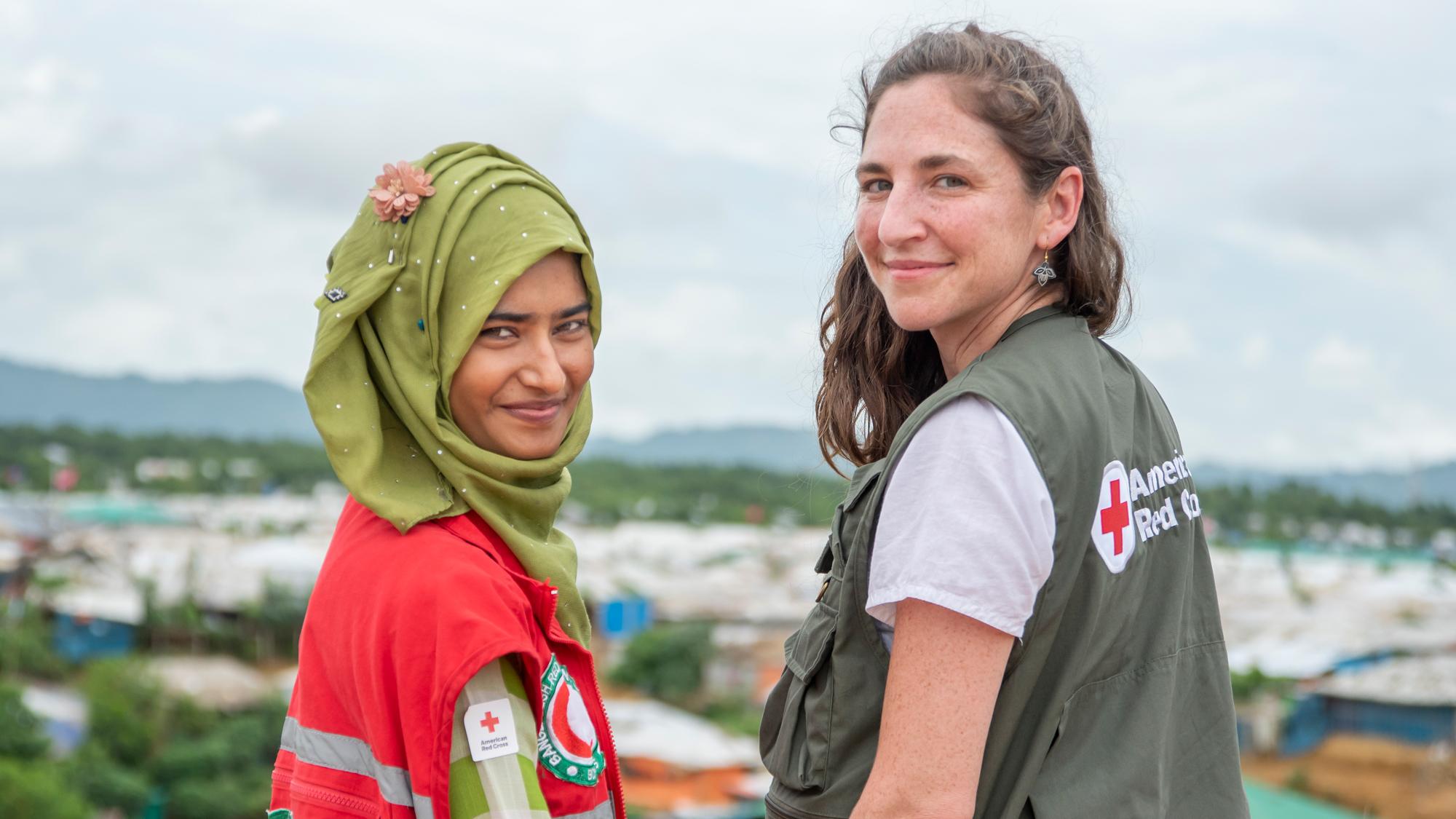 Mutig, engagiert, inspirierend: Frauen haben in der Internationalen Rotkreuz- und Rothalbmondbewegung schon immer eine zentrale Rolle gespielt. 2019 wurden diese Frauen geehrt, die sich auf der ganzen Welt engagieren.