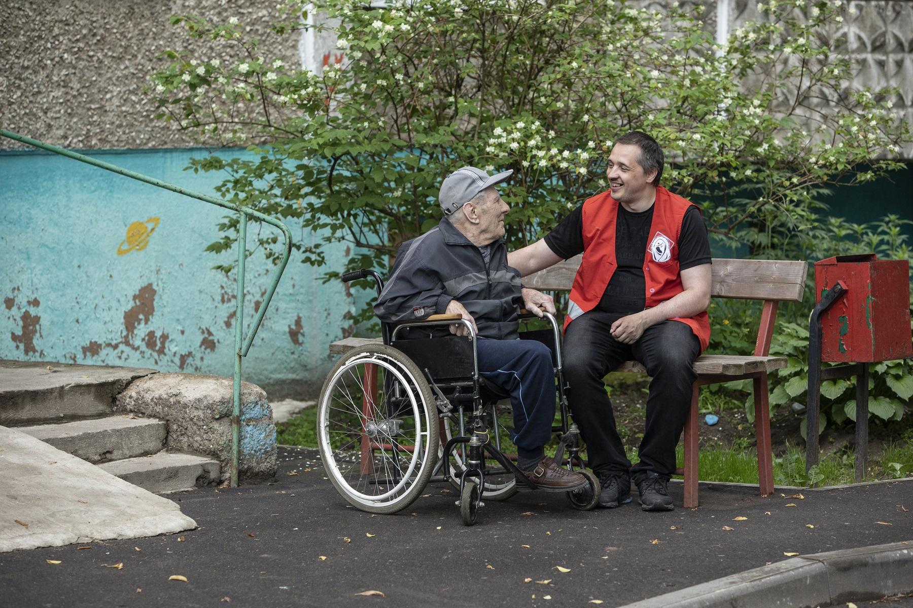 Lokale Rotkreuzgesellschaften auf dem Weg in die finanzielle Unabhängigkeit. © Monika Flückiger