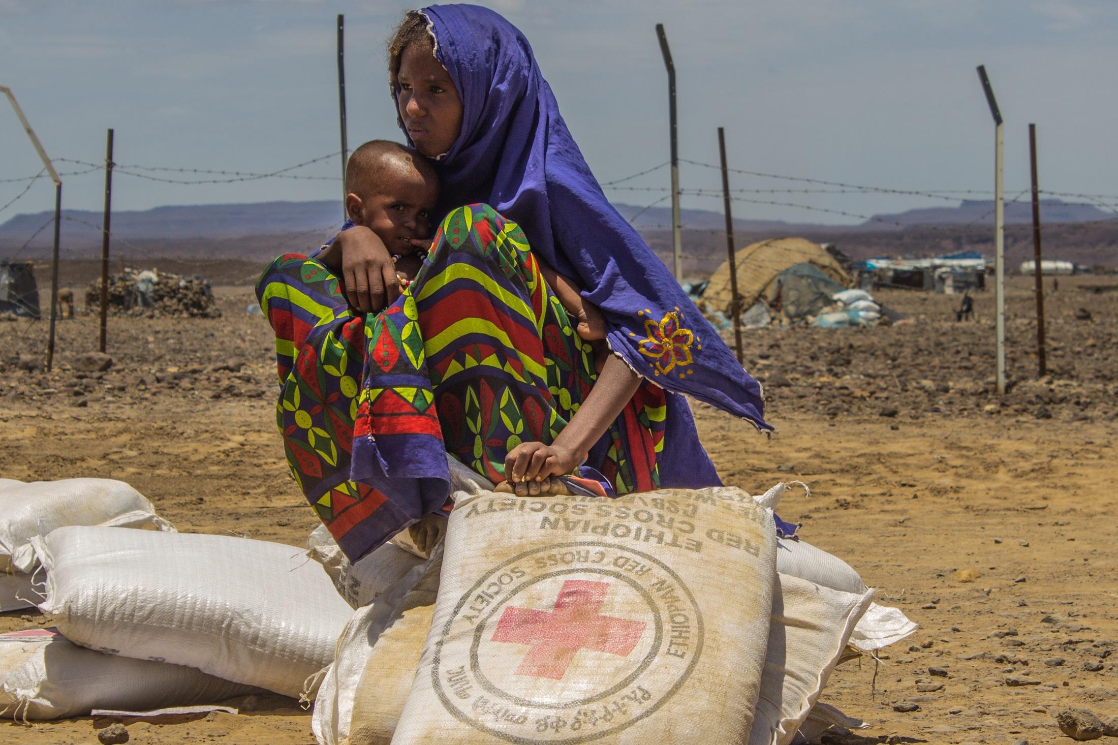 Region Afar, Äthiopien © IFRC, Marjo Leppãnen