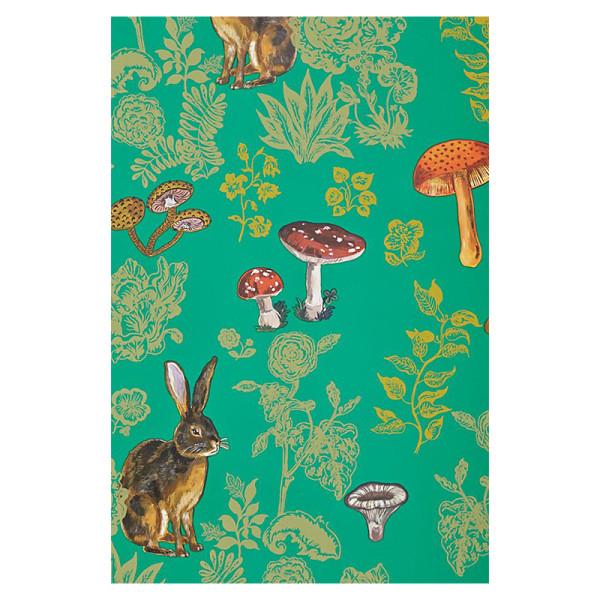 Nathalie lete mushroom forest wallpaper