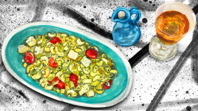 Pesto salad 1200x675