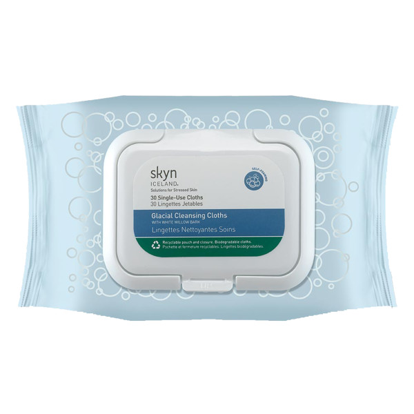Skyn iceland glacial cleansing cloths