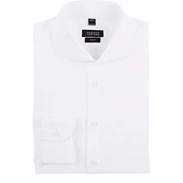 Barney s new york trim fit shirt