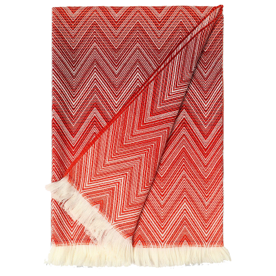 Missoni jacquard throw