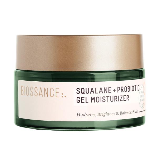 Biossance squalane   probiotic gel moisturizer