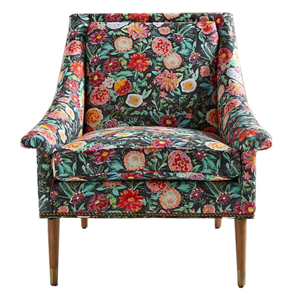 Anthropologie emma printed tillie chair