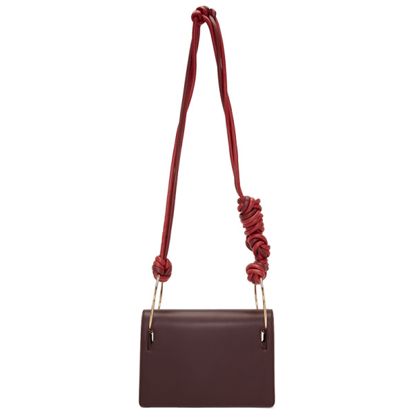 Roksanda burgundy ring cord bag