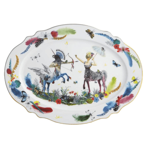 Christian lacroix caribe platter
