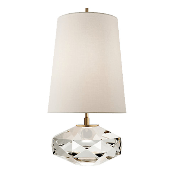 Kate spade castle peak glass lamp