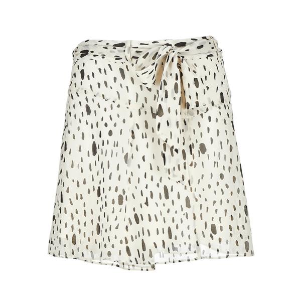Avec les filles falling rain drops printed mini skirt