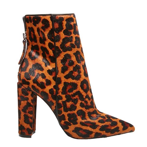 Trista l leopard boots