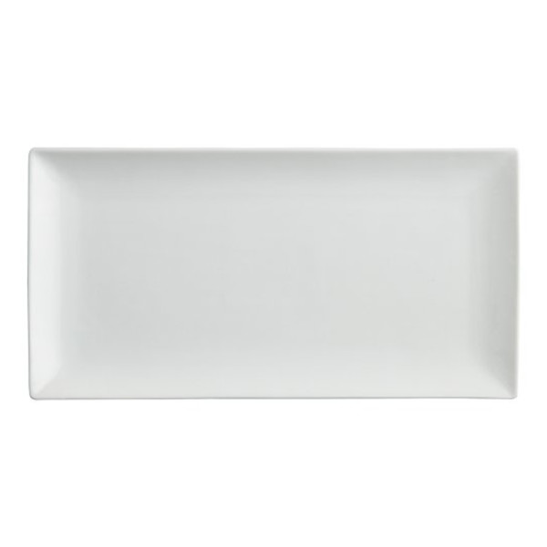 Crate   barrel rectangle platter